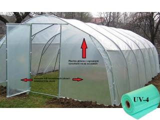Komplet Folii UV4 na tunel metalowy BUTIMEX - 12,00 x 4,00 x 2,15m