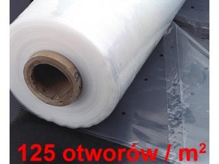 Folia perforowana gruba - stabilizacja UV - 3,20 x 100mb x 60 mic