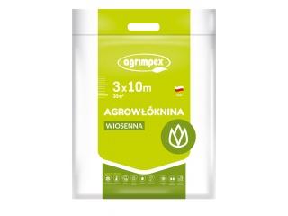 Agrowłóknina 17g Pegas Agro osłaniająca wiosenna 3,20m x 10mb - pakiet