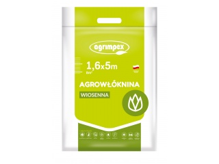 Agrowłóknina 17g Pegas Agro osłaniająca wiosenna 1,60m x 5mb - pakiet