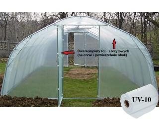 Komplet Boków Folii UV10 na wszystkie rozmiary tuneli metalowych BUTIMEX
