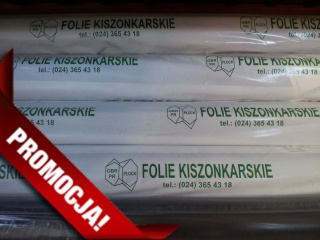 Folia kiszonkarska czarna o wymiarach 6 x 25 mb