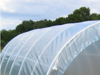 Komplet Folii UV4 na tunel foliowy PCW o rozmiarze 10,00m x 3,00 x 1,90m