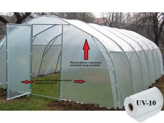Komplet Folii UV10 na tunel metalowy BUTIMEX - 9,60 x 4,00 x 2,15m
