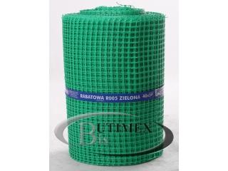 Siatka rabatowa R005 (BR5) - zielona 0,40 x 50 mb