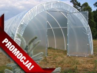 Tunel foliowy dla działkowców długości 6 m - przedpłata na konto