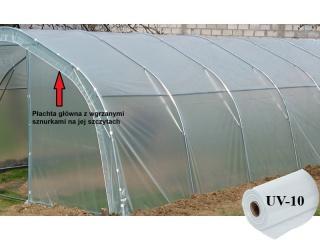 Płachta Główna UV10 na tunel metalowy BUTIMEX - 8,40 x 4,00 x 2,15m