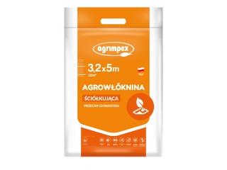 Agrowłóknina Pegas Agro P-50 przeciw chwastom 3,20 x 5mb - pakiet