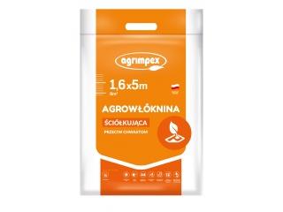 Agrowłóknina Pegas Agro P-50 przeciw chwastom 1,60 x 5mb - pakiet