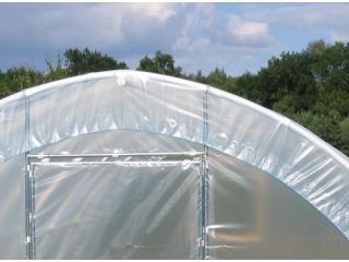 Komplet Folii UV4 na tunel foliowy PCW o rozmiarze 8,00m x 3,00 x 1,90m