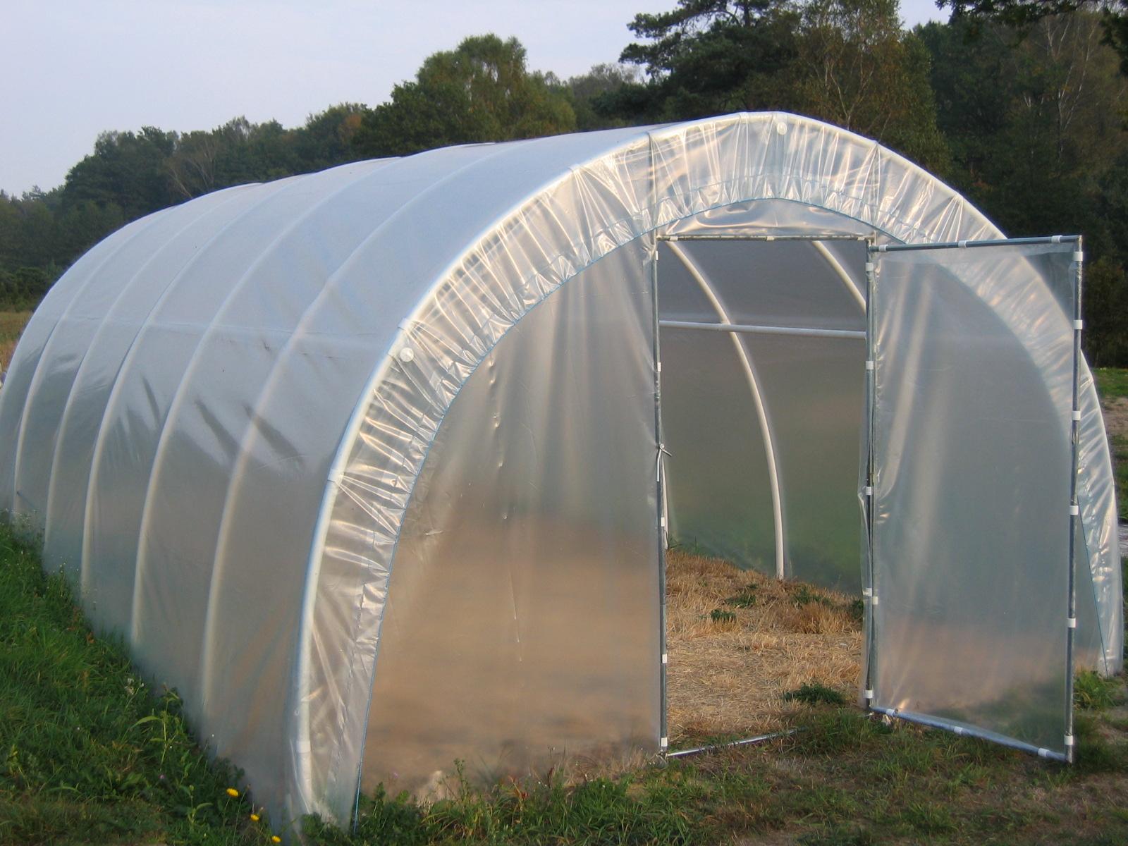 Tunele foliowe ogrodnicze PCV PCW 1