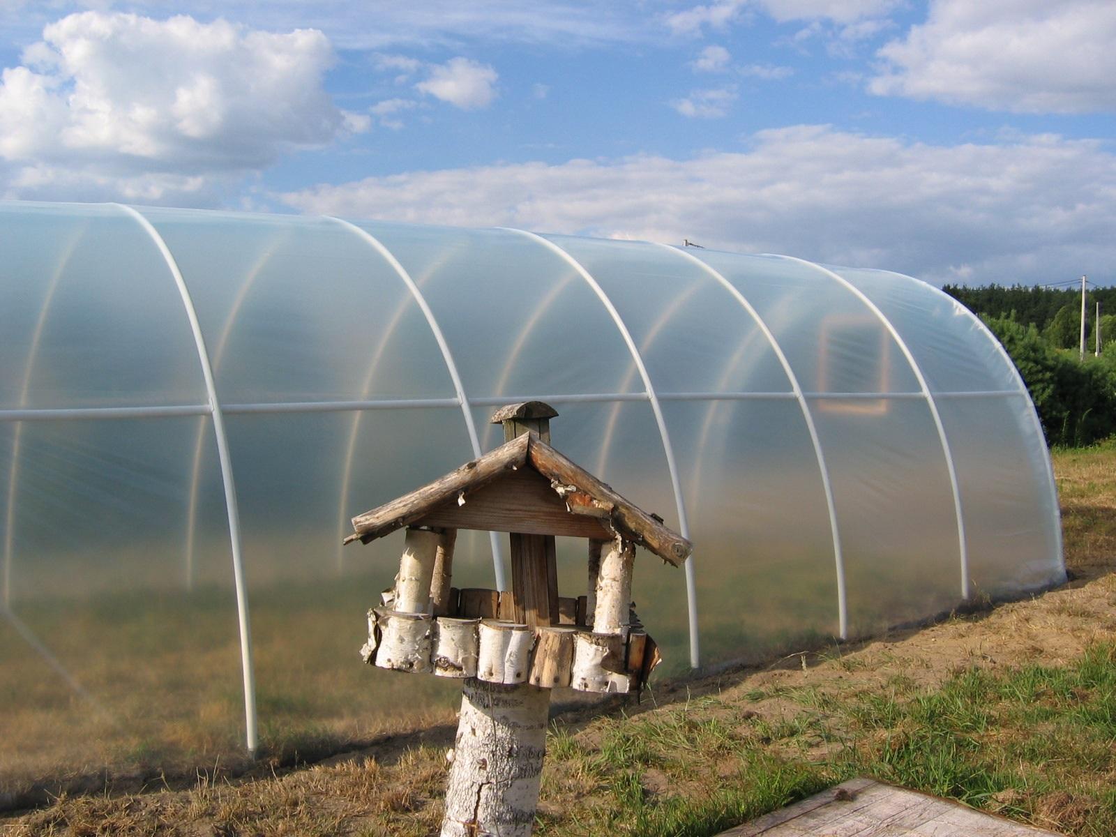 Tunele foliowe ogrodnicze PCV PCW