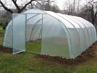 Tunele foliowe ogrodnicze dla działkowców (metalowe)